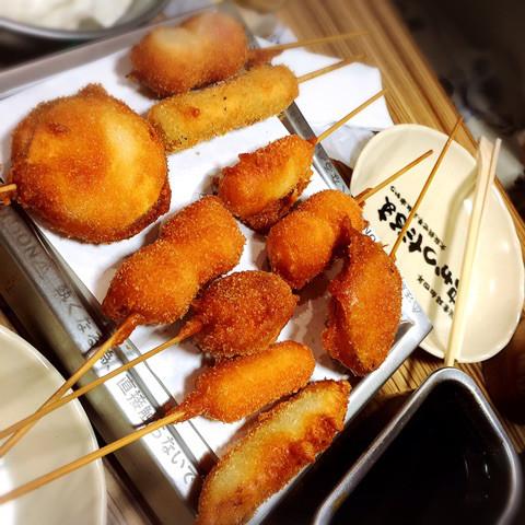 グルメ | 大阪 串かつだるま | 高品質で安いネイルサロンABCネイル 池袋店
