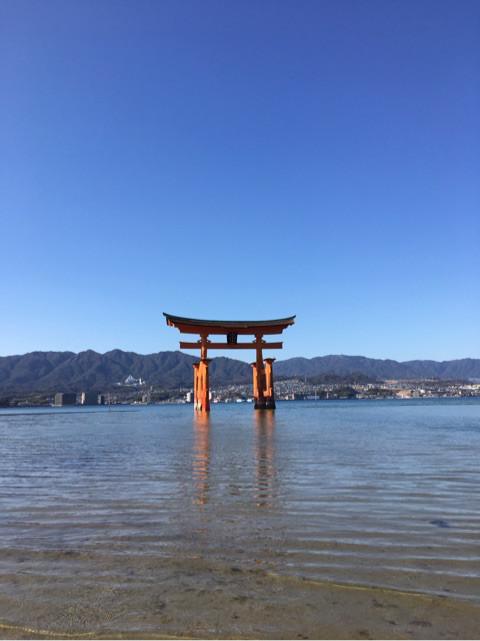 お出かけ   広島 厳島神社   高品質で安いネイルサロンABCネイル 池袋店