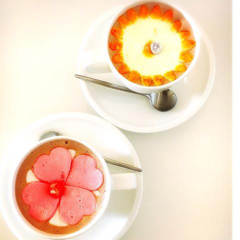 ドリンク | 花咲くホットチョコレート | 高品質で安いネイルサロンABCネイル 新宿店