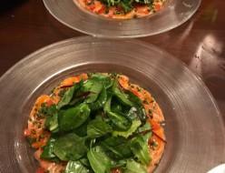 グルメ | サーモンカルパッチョ | 高品質で安いネイルサロンABCネイル 新宿店