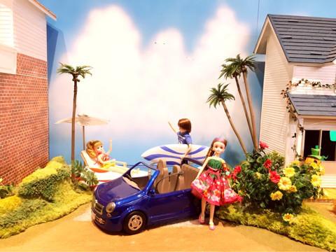 お出かけ | リカちゃん展2 | 高品質で安いネイルサロンABCネイル 銀座店