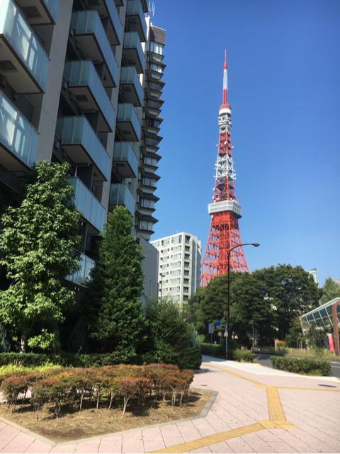 おでかけ | 東京タワー | 高品質で安いネイルサロンABCネイル 銀座店